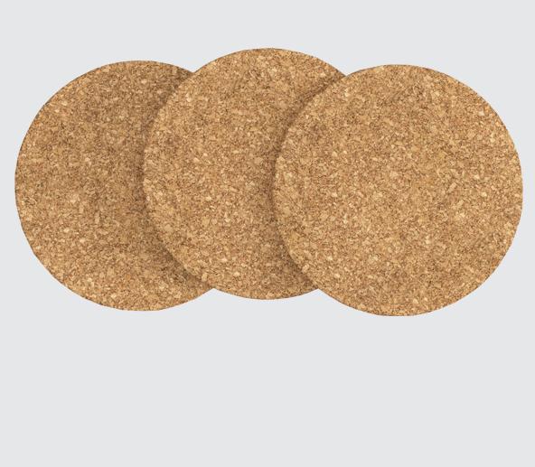 Adhesive Pads - Neoprene Cork Pads