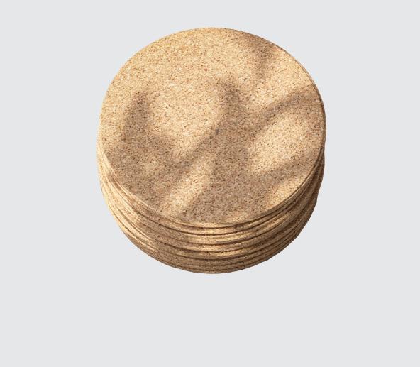 Adhesive Pads - Nitrile Cork Pads