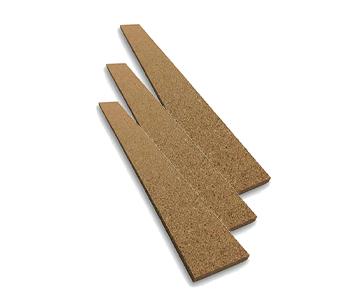 Adhesive Strips - Natural Cork Strips