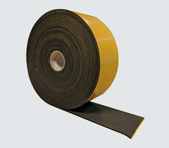 Adhesive Strips - Neoprene Sponge Strips